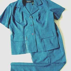 Sag Harbor jacket and pants set
